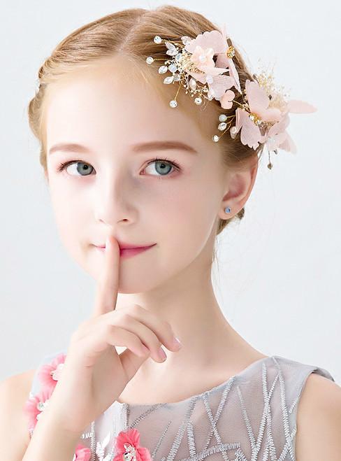 Children's Tiara Princess Butterfly Hair Accessories Crown