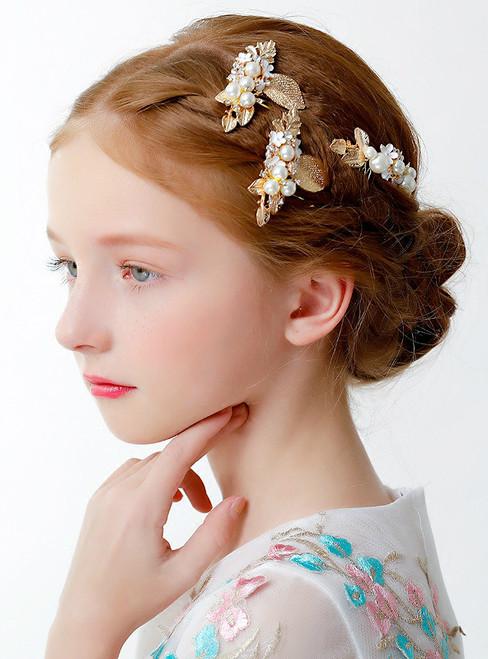 Cinderella 3 Piece Clip For Children's Hair Accessories