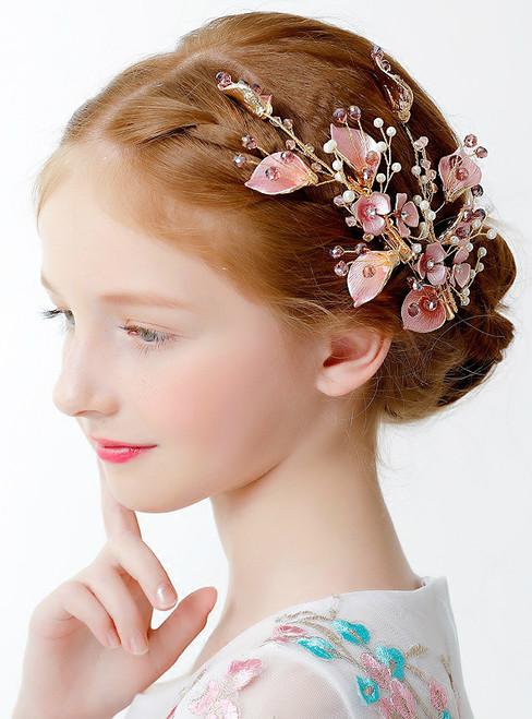 Children'sPink Hair Accessories Girls Clip Hair Accessories