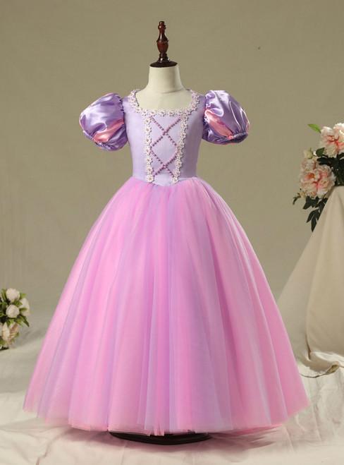 In Stock:Ship in 48 Hours Frozen Dress Summer Fairy Tale Children