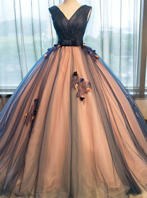 Charming Quinceanera Dresses Long Prom Dress Elegant Evening Dress