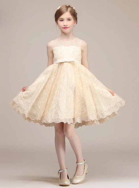 e369277e7 Lace & Vintage Flower Girl Dresses Ivory Flower Girl Dresses