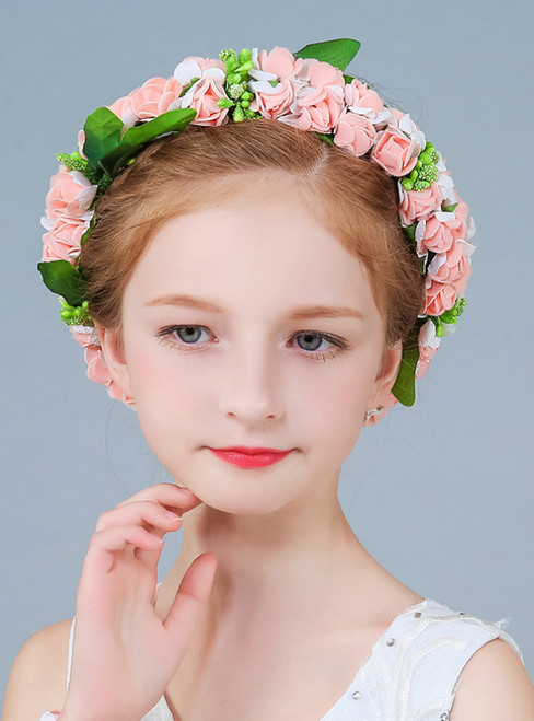 Head Ring Bracelet Accessories Garland Flower