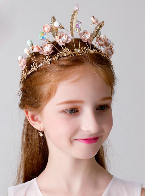 Children's Hair Accessories Clip Jewelry Princess Crown