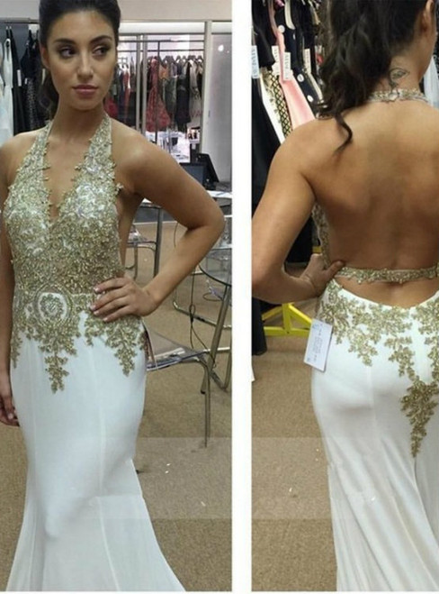 Prom dress 2017 Cheap prom dress backless