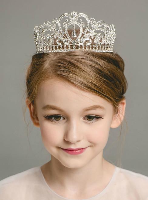 Children's Hair Accessories Princess Crown Crystal Tiaras