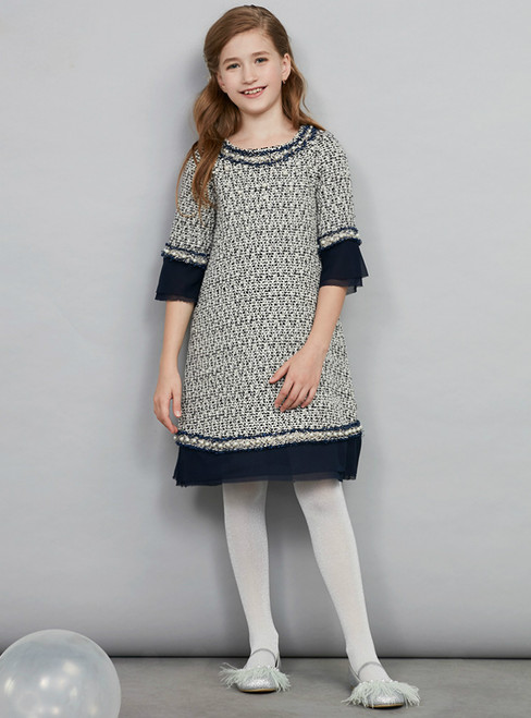 In Stock:Ship in 48 Hours Ready To Ship Long Sleeve Girl Dress Skirt