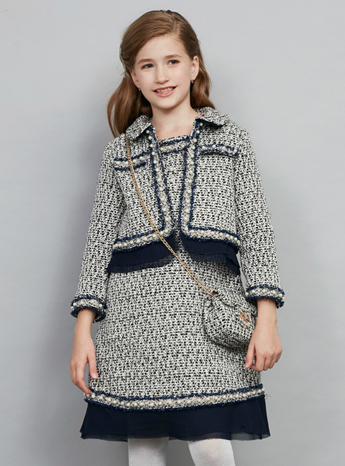 In Stock:Ship in 48 Hours Ready To Ship Two Piece Girl Dress Skirt