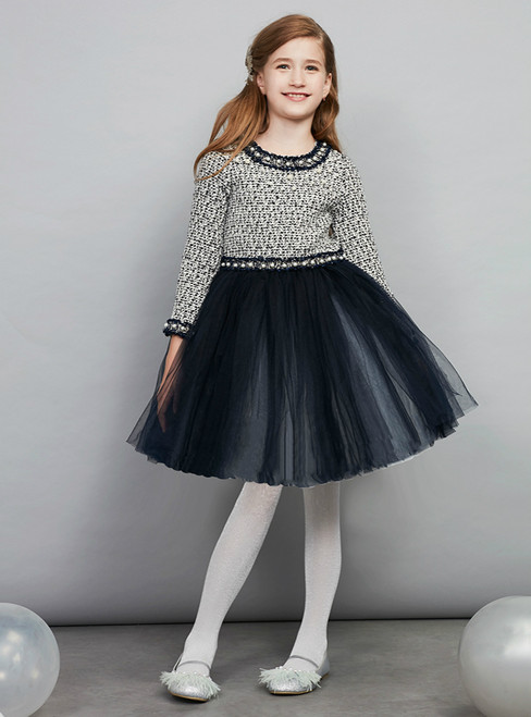 In Stock:Ship in 48 Hours Ready To Ship Long Sleeve Girl Princess Skirt