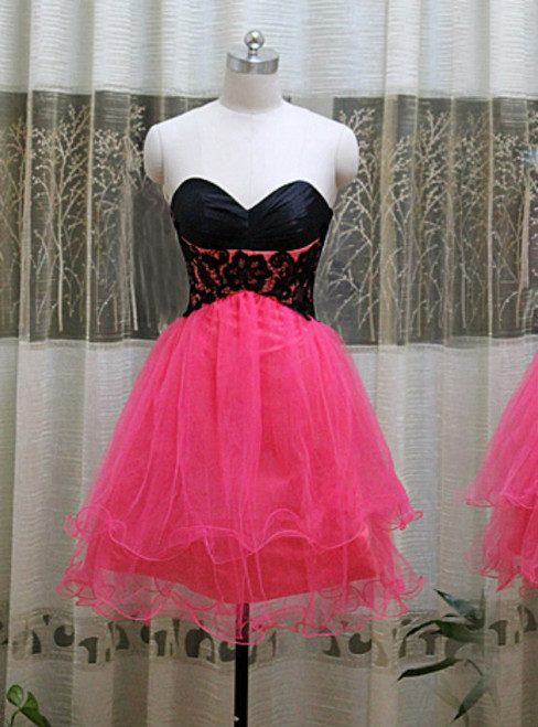 Sweetheart Neck Prom Dress Homecoming Prom Dress Open Back Prom Dress