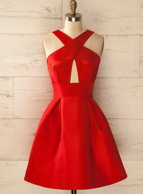 Cheap homecoming dresses 2017 Charming Prom Dress,Red Prom Dress