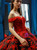 Red Black Ball Gown Satin Appliques Off the Shoulder Quinceanera Dresses