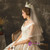 Tulle Lace Appliques Champagne Off the Shoulder Wedding Dress WithTrain