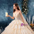 Champagne Tulle Spaghetti Staps Lace Appliques Backless Wedding Dress