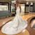 White Mermaid Satin Spaghetti Straps Beading Wedding Dress