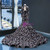 Black Mermaid Sequins High Neck Long Sleeve Backless Prom Dress