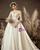 Ivory White Satin Sweetheart Wedding Dress With Bow