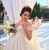 For You Ivory Ball Gown Sequins Off the Shoulder Wedding Dress