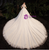 Tulle Appliques Long Sleeve Open Back Beading Wedding Dress