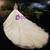 Tulle High Neck Cap Sleeve Backless Beading Wedding Dress