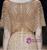 Gold Mermaid Tulle Sequins V-neck Short Sleeve Prom Dress
