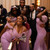 Purple Mermaid Satin Lace Spaghetti Straps Bridesmaid Dress