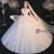 Tulle Sequins Spaghetti Beading Wedding Dress