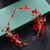 Bridal Tiara wedding hair jewelry flower hairband women's Handmade headband