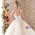 Ball Gown High Waist Appliques Beading Haute Couture Wedding Dresses