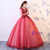 In Stock:Ship in 48 hours Ready To Ship Long Sleeve Red Tulle Dress