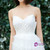 In Stock:Ship in 48 hours  Spaghetti Straps Tulle Appliques Wedding Dresss