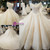 Luxury Off The Shoulder Ball Gown Ivory Long Train Haute Couture Wedding Dresses