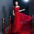Burgundy Off the Shoulder Short Sleeve Tulle  Prom Dress