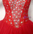 Red Ball Gown Tulle Sweetheart Floor Length Prom Dress