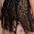 In Stock:Ship in 48 hours Black Allure See Through Short Prom Dress