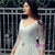 White Satin V-neck Backless Lace Long Sleeve Wedding Dress