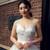 White Spaghetti Straps High Waist Tulle Floor Length Wedding Dress