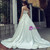White Ball Gown Sweetheart Neck Satin Backless Wedding Dress