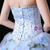 Blue Ball Gown Tulle Sweetheart Print Quinceanera Dresses With Beading
