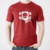 Men's Vintage Power Athlete Shield T-Shirt - Red