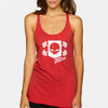 Women's Vintage Power Athlete Shield Tank - Red