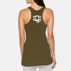 Women's Vintage Power Athlete Shield Tank - Green