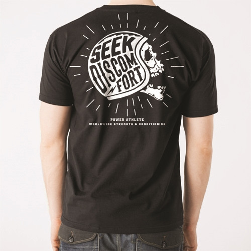 Men's Seek Discomfort T-Shirt - Black