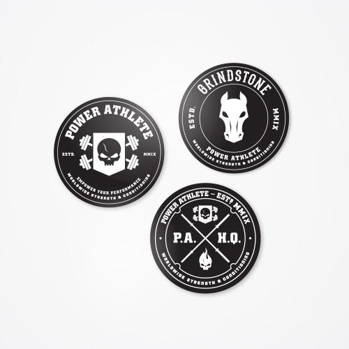 Grindstone Training - Sticker Pack
