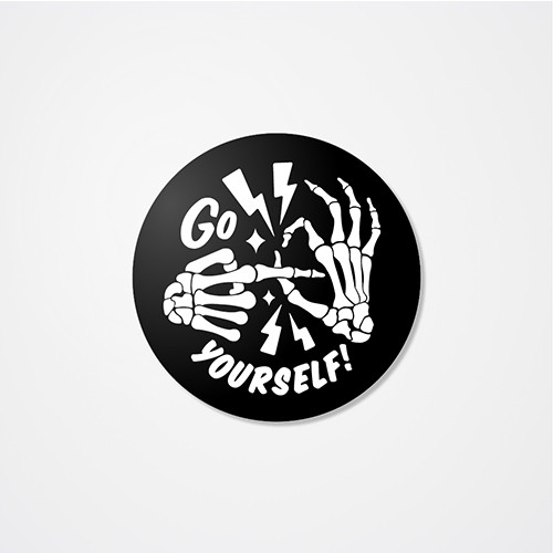 Go Fuck Yourself Sticker