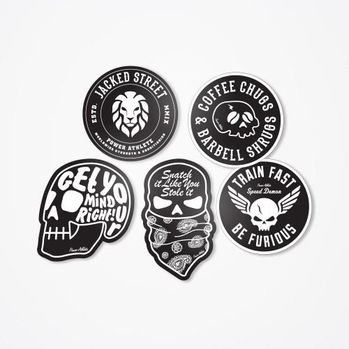 Jacked Street - Impetus Sticker Pack