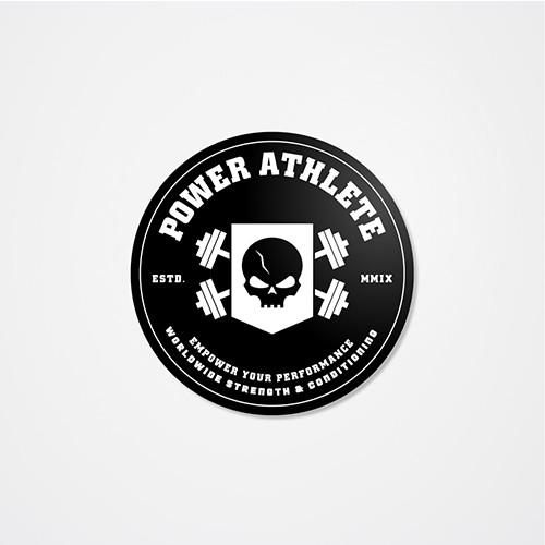 Power Athlete Training Sticker