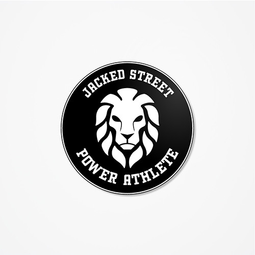 Jacked Street - Round Cut Helmet Decal
