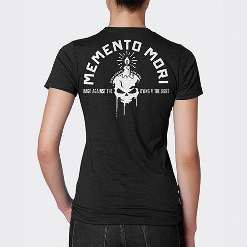 Women's Memento Mori - Crew Tee