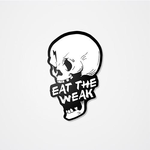 Eat The Weak Sticker